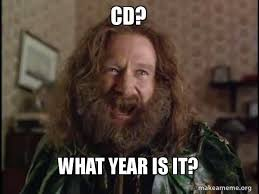 Cd Meme - cd what year is it robin williams what year is it jumanji