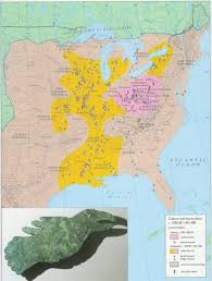 america map ohio geographic extent of adena and hopewell mound building cultures