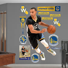 fathead wall decal roselawnlutheran amazon com nba golden state warriors stephen curry point guard fathead real big decals