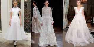wedding dress trend 2017 2017 wedding trends bridal fashion trends for 2017