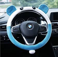 Accessories For Cars Interior Generic New Arrival Cute Car Steering Wheel Covers Top Plush