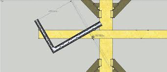 hip roof pattern rafter youtube