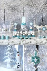 frozen party trend alert frozen party table hostess with the mostess