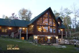 cabin home designs featured homes log homes org