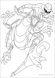 power rangers coloring pages dr odd coloring book