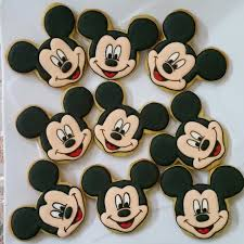 homemade fancy cookies and chocolate for your occassion mickey