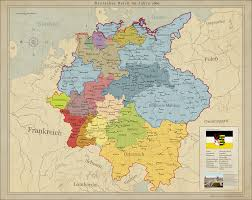 Unification Of Germany Map by Saxony Unites Germany By Arminius1871 On Deviantart