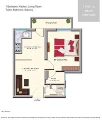 1 bhk floor plan floor plan 1 bhk type a flats in dinesh nagar on nh24 ghaziabad