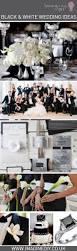 diy wedding ideas black and white black white wedding craft ideas