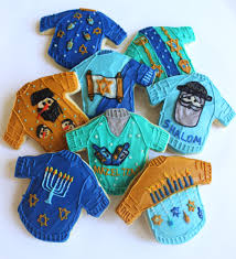 hanukkah cookies hanukkah sweater sugar cookies with buttercream frosting
