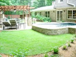 Tuscan Backyard Landscaping Ideas Download Landscaping Design Ideas For Backyard
