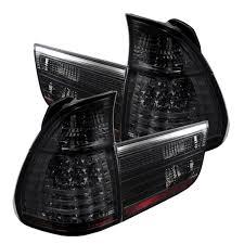 2002 bmw x5 tail light assembly amazon com spyder bmw e53 x5 00 06 4pcs led tail lights black