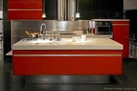 Pictures Of Modern Kitchen Designs Pictures Of Kitchens Modern Red Kitchen Cabinets