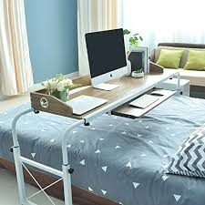 bed table on wheels over bed table the best amazon price in savemoney es