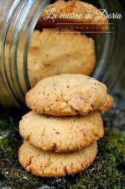 cuisine de doria crunchy nut cookies biscuits croquants à la noix la cuisine de