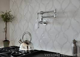 Interior Design Ideas The Kitchen Backsplash Is A Combination Of - Marble kitchen backsplash
