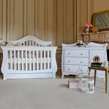 Sleigh Crib Convertible Creations Venezia Collection Convertible Crib In Vanilla