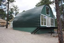 Glass Front House Architecture Enchanting Quonset Hut Homes With Paint Wall Decor