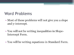 7 6 systems of linear inequalities word problems ppt video