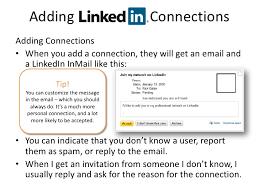 Linkedin Resume Creator Adding Linkedin Connections U003cbr U003eadding Connections U003cbr
