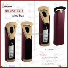 gift packaging for wine bottles gift packaging wine holder for 1 bottle manufacturer from dongguan