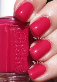 essie summer 2014 collection swatches haute in the heat is a