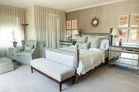 Mirrored Bedroom Bench Mirrored Dresser Look Jacksonville Traditional Bedroom Innovative