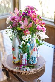 Floral Vases And Containers Stunning Floral Centerpiece Featuring Diet Coke