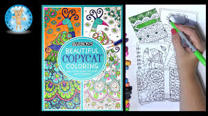 barron u0027s beautiful copycat coloring book butterfly elephant owl