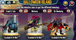 halloween monsters halloween island monster legends wiki