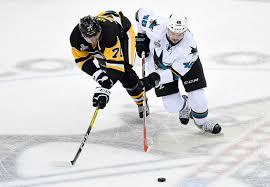 San Jose Sharks Flag Penguins And Sharks Kick Off 2016 Stanley Cup Final Si Com