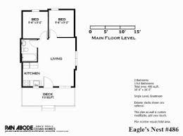 eagles nest floor plans pan abode cedar homes