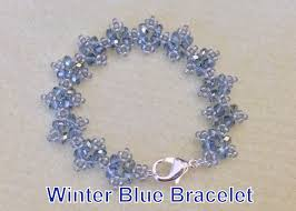 bracelet tutorials youtube images Winter blue bracelet beginner tutorial jpg