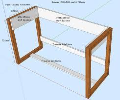 fabriquer bureau fabriquer bureau pieds de bureau et stabilité