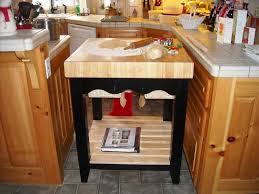 Kitchen Island With Butcher Block Top by Classy Butcher Block Kitchen Table U2014 Oceanspielen Designs