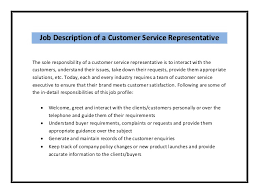 resume format customer service executive job profiles vs job descriptions dissertation writing workshop part 2 putting pen to paper