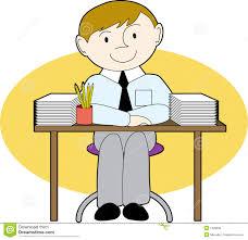 clipart bureau neat desk clipart clipartxtras