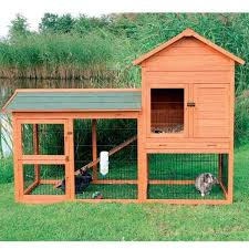 Sale Rabbit Hutches Trixie Rabbit Hutch With Outdoor Run Free Shipping Today
