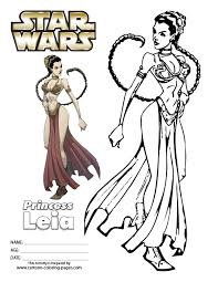 80 coloring pages princess leia angry birds star wars