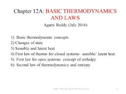 1 chapter 12a basic thermodynamics