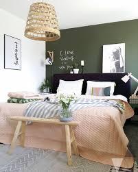 chambre en osier le vert tendance déco du moment vert chambre vert et chambres