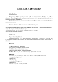 Calculate Your Carbon Footprint Worksheet Lesson Plan About Global Warming Subject English Spanish Team