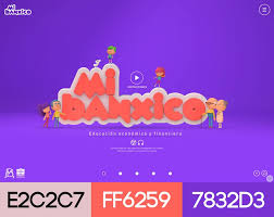 modern web design with color schemes 2017 website designs