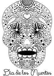 275 colouring sugar skulls dead images