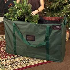 artificial tree storage bag decor