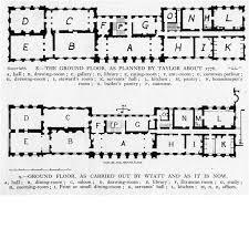 Palace Of Caserta Floor Plan 74 Heveningham Hall Heveningham Sussex Ground Floor As Planned