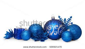 Small Blue Christmas Decorations by Christmas Decoration Isolated Stock Images Royalty Free Images