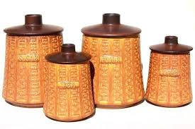 vintage canisters for kitchen vintage kitchen canisters vintage kitchen canisters 4 set