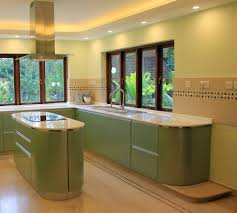 deco cuisine couleur deco cuisine peinture verte