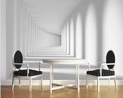 Wanddekoration Wohnzimmer Modern Benutzerdefinierte 3d Wandbild Korridor Raum Expansion Für